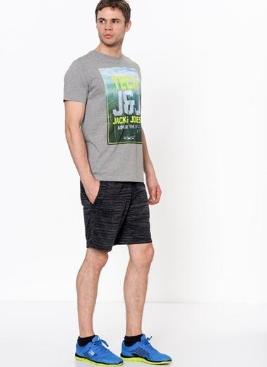 Baskılı Tişört-Jack & Jones TECH